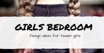 girls bedroom ideas / girls room decor, girls room DIY, teen, tween, girls bedroom ideas, kids room DIY