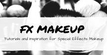 FX makeup tutorials / FX makeup pretty, wounds, gross, spooky, tutorials, youtube.