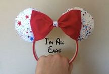 Homemade Disney Mouse Ears! / Unique, Magical, Homemade Disney Mickey Ears for sale!
