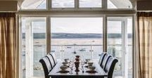 Orchard House - a self-catering holiday cottage in Rock, North Cornwall by Latitude50 / Orchard House enjoys one of the best locations in Rock, with a frontline, waterside position offering stunning panoramic views of the Camel Estuary.