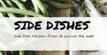 Side Dishes / side dish recipes including vegetables, potato recipes, salads,  and more from across the web.