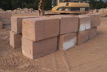 Australian Sandstone Quarry / Australian stone supplier. www.aussietecture.com.au