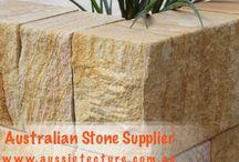 Sandstone Bricks / Australian stone supplier  www.aussietecture.com.au