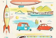 Design   Illustration / Illustrations we love! / by Fresh Bunch