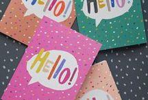 Design | Greeting Cards / Design inspiration for greeting cards