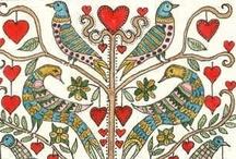 Inspiration ~ Design Pattern Texture / by Karen♥ PetitPoulailler ♥ ThreeFrenchHens ♥
