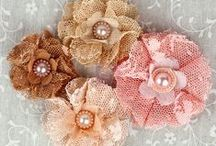 FABRIC FLOWERS / by Mary Anglin