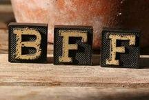 Design   Friendship / Design inspiration for celebrating friendship / by Fresh Bunch