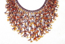 Beadwork / Here are some of my beaded creations. #Necklaces and #Earrings