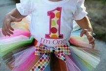 Emma turns ONE :) / Birthday ideas