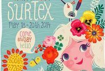 Design | Surtex / Surtex flyers from designers we admire
