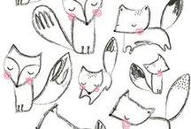 Design   Animal Illustrations / by Fresh Bunch