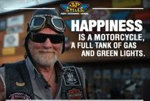 Motorcycle Quotes, Love and Inspiration / Some of the best knowledge comes from those who've ridden on two wheels.