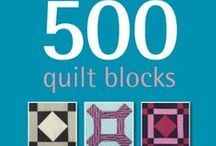 ✄ NA - 1 Quilt Blocks / ... a run of 500 unique quilt blocks!
