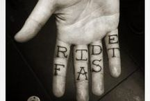 Biker Tattoos / Tattoos serve many purposes. Whatever your reason is, own it.
