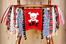 Captain RrrrJ's 1st. Pirate Birthday Bash / Idea's to Show Mommy and Daddy  / by JoAnn Cyphers