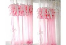 curtain inspiration, def not shabby but chic <3