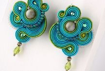 Soutache / Soutache embroidery inspirations.