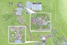 runDisney Course Maps / Course Maps for #runDisney Races