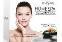 SPA AT HOME / Levissime Cosmetics Prodotti viso e corpo
