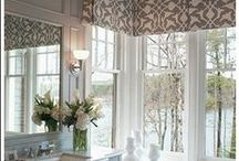 Valances / Custom valances are a decorative top treatment hung above a window and are often the perfect addition to complete a room. http://galaxydraperies.com/custom-valances/