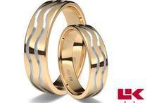 Alianzas de oro rojo/ Red gold wedding bands / #alianzas para bodas