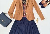 Inspirace / móda, barevné kombinace, styl