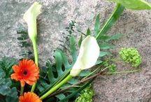 Kukkakimput, bouquets / Tekemiäni kukkakimppuja