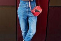 Jeansoveralls / Trendige Denim Overalls & Jumpsuits für Damen