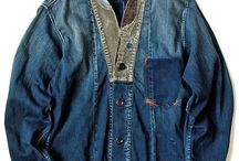 Denim / Inspiration for sewing sessions with Suzi Stitch & MiiW