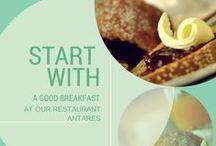 Restaurant at Hotel Antares****