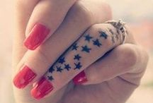 Ink it Cute / Cute, Sweet, Tattoos and Nail Arts