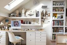 Home Office / A collection of my ideal workspace interior design.
