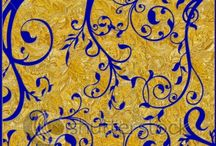 Vegalta Colour / Gold, Blue and Red
