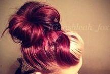 CABELOS / Inspirações de corte, cores e penteados...