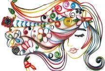 Öğrenci Çalışmaları (Kağıt Kesme Sanatı) / 10.Sınıflar Görsel Sanatlar Dersi Etkinlikleri