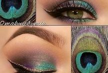 Make-up looks / new color combinations & ideas on how to wear your eye shadows, lips or blush!