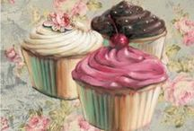 Cup-a-cake / All about baking sweets/cakes/decorating cupcakes