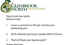 GBN Alumni: Pin your Pride! / Want to share your GBN pride? Whether it's old photos, links to alumni in the news or information about upcoming reunions, we want to hear about it. To pin here, leave a comment with your year on the first Glenbrook pin. (*Note: Please, make sure your pins are appropriate.)
