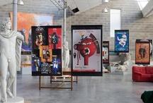 """""""Entre le mur et l'affiche"""" / Exposition d'affiches de Bruno Théry - décembre 2011 au Musée des Moulages"""