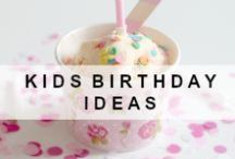 Kids birthday ideas / 1st birthday party, 2nd birthday, kids birthday, baby's first birthday, kids parties,