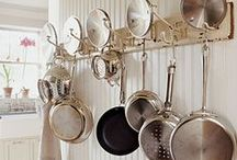 Kitchen: pots and pans