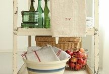 Kitchen: store and organize
