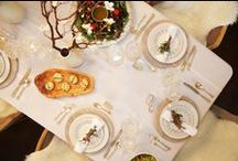 Christmas Recipes ad Decor / Finding the perfect recipe to add to the Christmas dinner or morning menu is just as much fun as putting together the tablesetting.