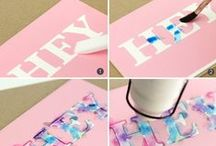 DIY / Simple do it yourself ideas | DIY Home Decoration | Washi Tape | Friendship bracelets | Cards | DIY Gifts