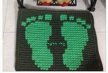 Tapestry crochet - / טלי דלאל - קרושה זה הקטע שלי adlı kullanıcıdan