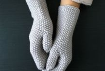 Knitted Mittens / Knitted mittens to keep your hands fab and warm.