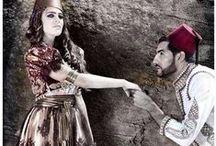 Costumes algériens modernes