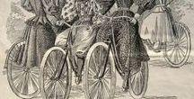 Vintage Bicycles Themes / Rowerowe Scenki