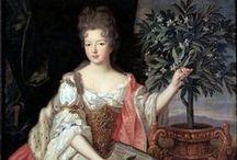 Costumes de 1680-1700